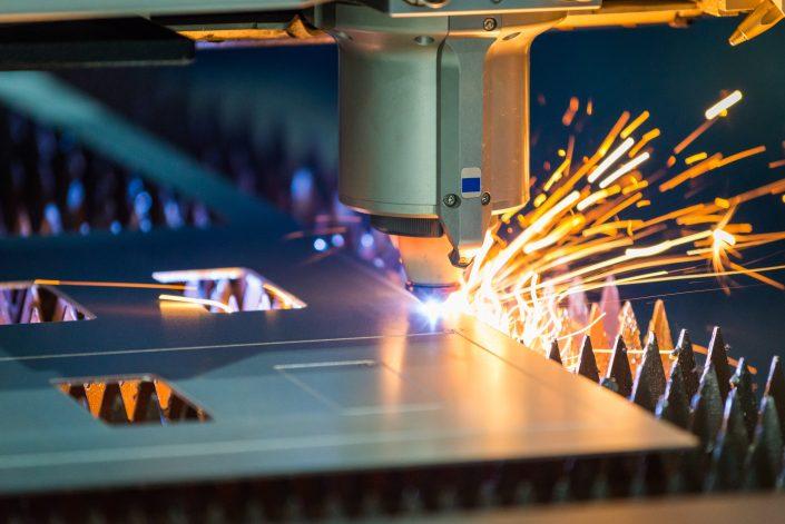 Blechbearbeitung Laserschneiden