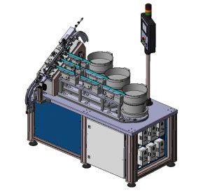 Montageanlage Zuführsystem