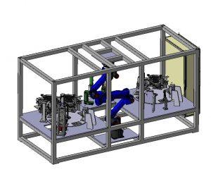Montagezelle Fahrzeuginnenraum