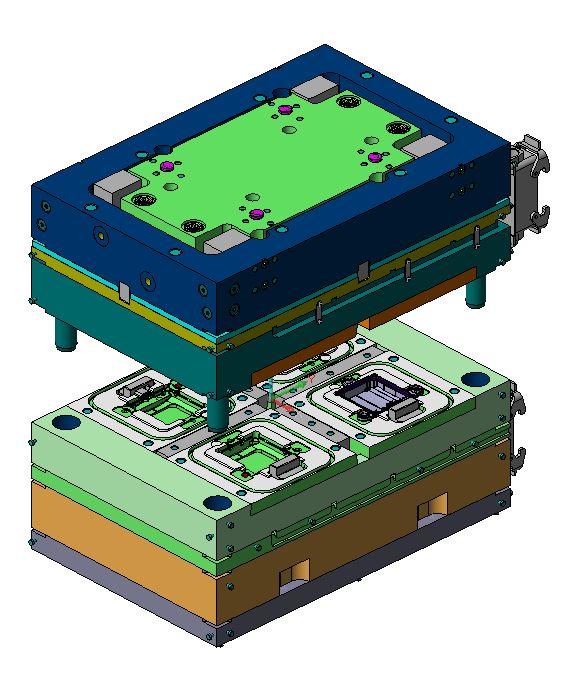 Spritzwerkzeug Elektronikindustrie