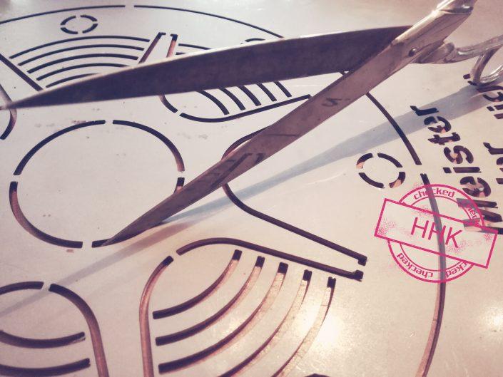 Blechbearbeitung Blechkunsthandwerk