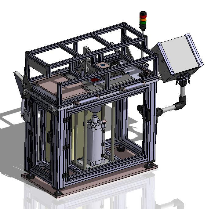 Verpressvorrichtung Pulverpressvorrichtung